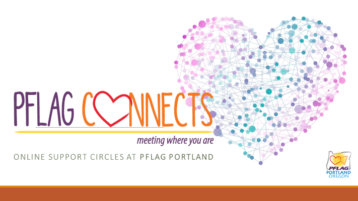 PFLAG Connects online Support Circle 2nd Thursday